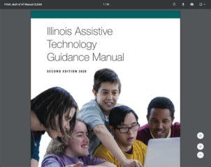 Screenshot of Illinois AT Guidance Manual