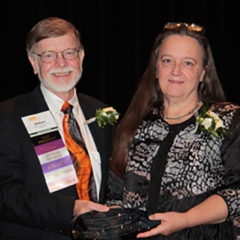 Christine Young receives AMI 2016 Lifetime Achievement Award  (Photo credit: Ted Kucklick)