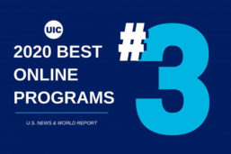Ranked #3 best online programs in 2019