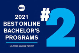 UIC 2021 Best Online Bachelor's Programs No. 2 U.S. News & World Report