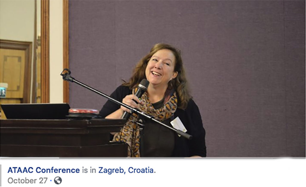 Politano speaks at the ATAAC Conference