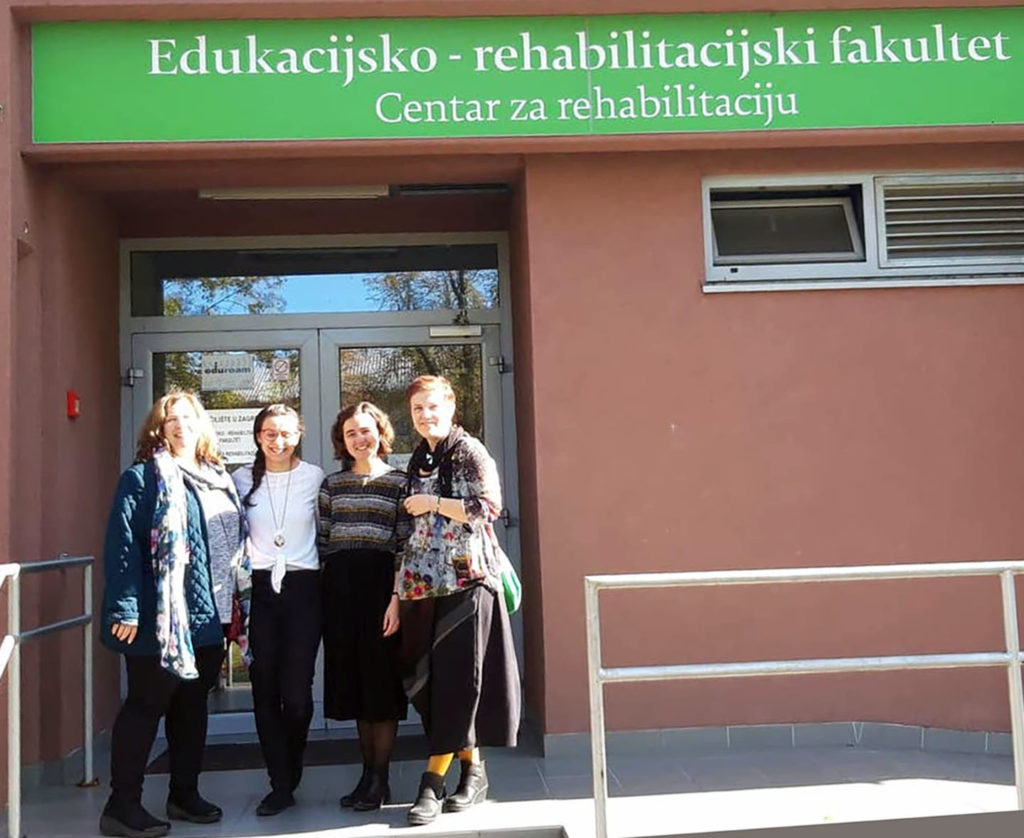 Collaborated with Dean and faculty of Department of Inclusive Education and Rehabilitation at the University of Zagreb