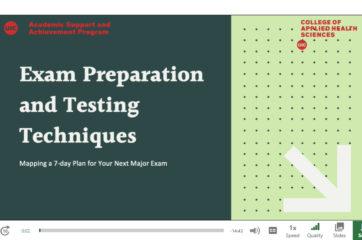 Exam Prep workshop screenshot