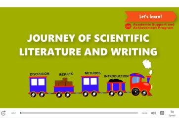 Writing workshop screenshot