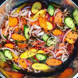 Photo by Joshua Clark- bowl of carrots