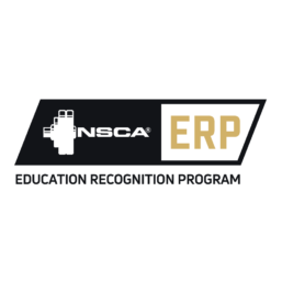 National Strength and Conditioning Association's Education Recognition Program logo