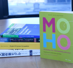 Stack of MOHO books in different languages