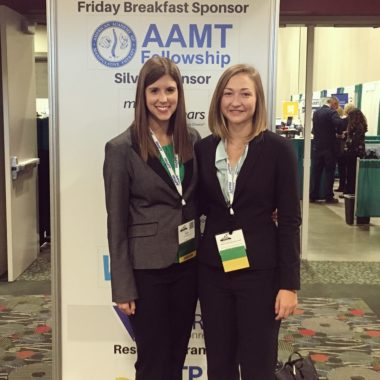 Residents at AAOMPT