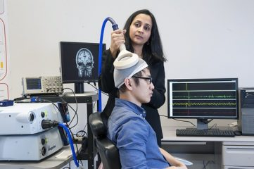 Madhavan measuring brain stimulation effects on a person