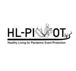 HL-PIVOT Healthy Living for Pandemic Event Protection black and white logo