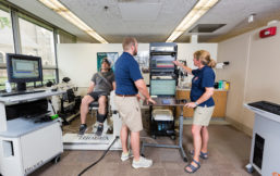 Researchers at the UIC Integrative Physiology Laboratory