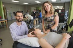 Adam Wielechowski and Deb Davey are working to educate physicians on how physical therapy can be an effective alternative to prescribing opioids