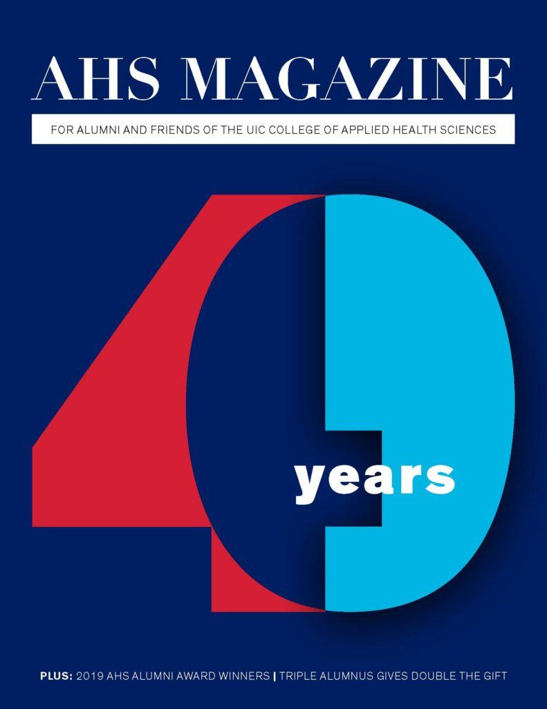AHS Magazine summer 2019 cover