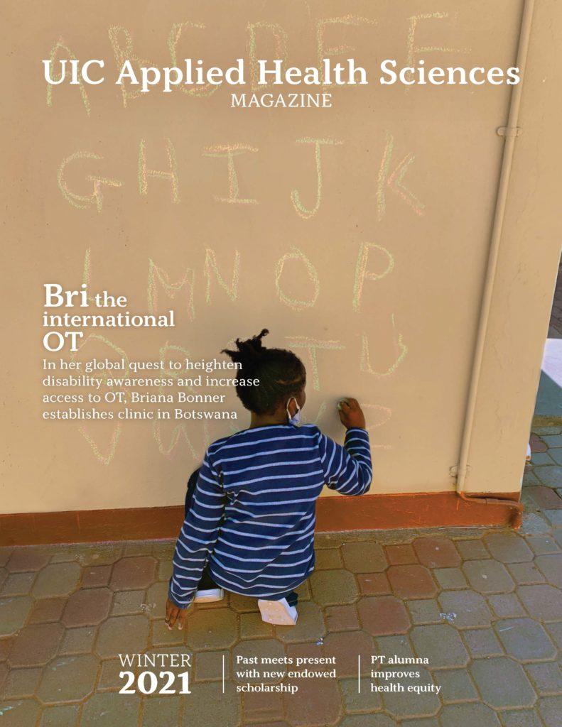 UIC Applied Health Sciences Magazine - Winter 2021